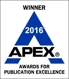 WINNER 2016 APEX Awards for Publication Excellence