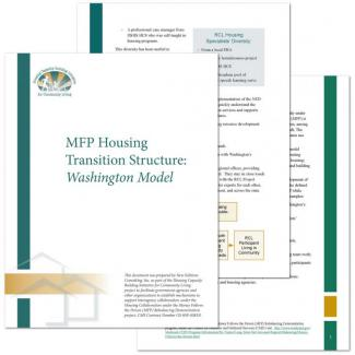 MFP Housing Transition Structure: Washington Model