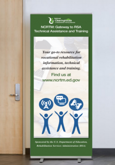 Banner describing NCRTM services