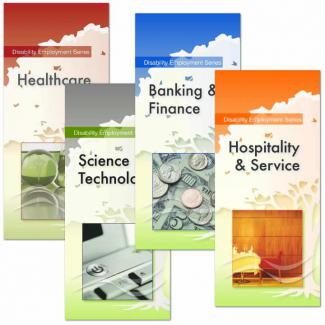 Smart Solutions Brochures: Healthcare, Science & Technology, Banking & Family, Hospitality & Service