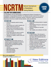 NCRTM Check Sheet Flyer