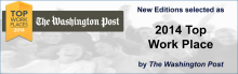 New Editions selected as 2014 Top Work Place by the Washington Post