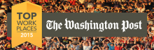 The Washington Post Top Workplaces 2015. New Editions selected as a Top Work Place